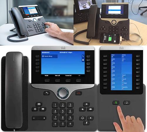 Cisco 3PCC линейка IP-телефонов 8800